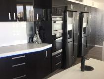 Kitchen double fridge