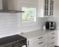 Wynnum kitchen renovation white shaker doors